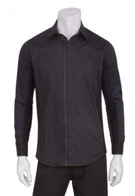 ZIP-FRONT SHIRT pánská košile