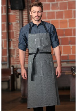 PORTLAND ADJUSTABLE CHEF'S BIB zástěra